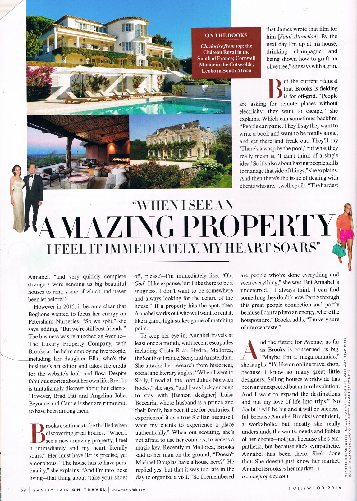 Villa that is part of the Avenue property collection with Annabel Brooks interview page 5
